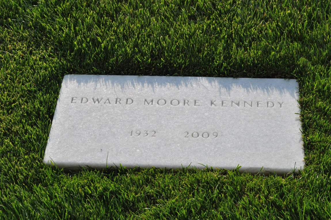 Edward (Ted) Moore Kennedy Grave
